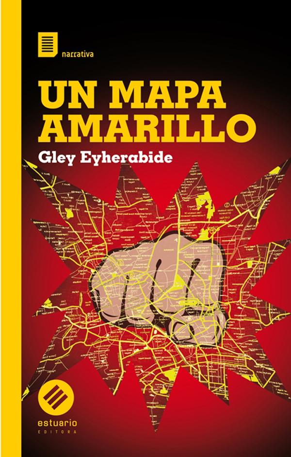 Un mapa amarillo