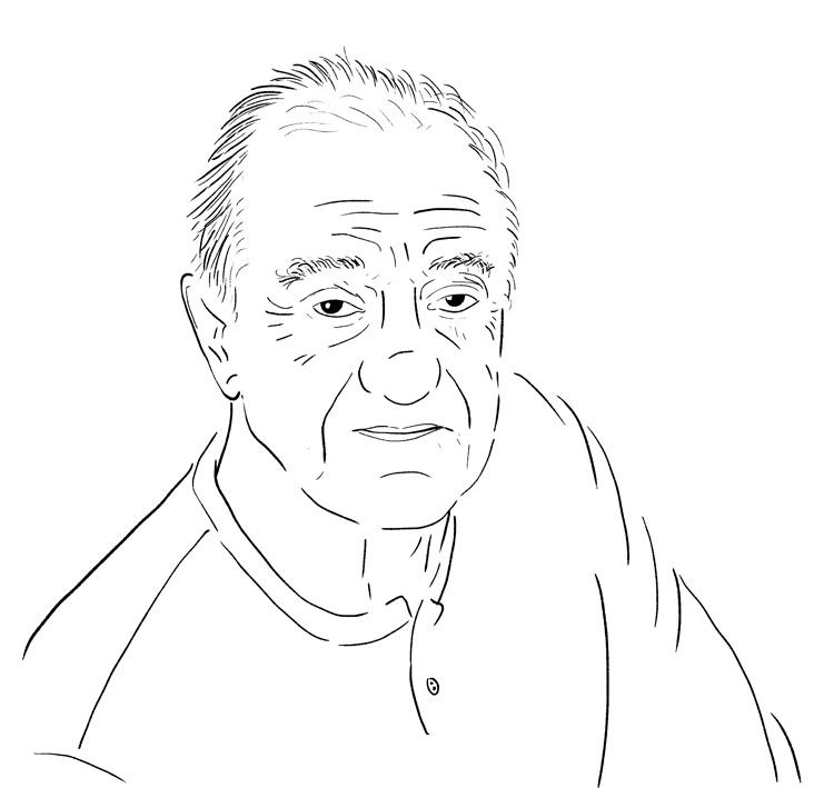 retrato Pedro Giudice